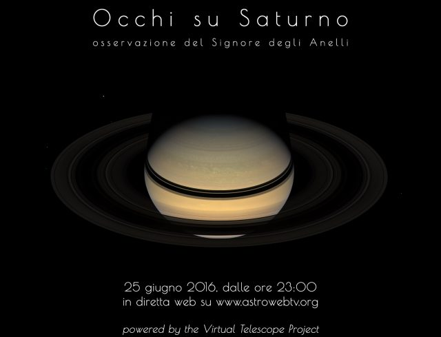 Occhi su Saturno 2016: Locandina