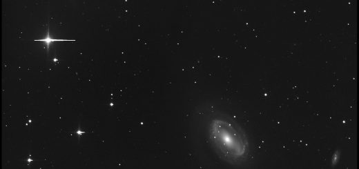 Dwarf planet (136472) Makemake, NGC 4725, NGC 4712 and NGC 4747: 05 June 2016