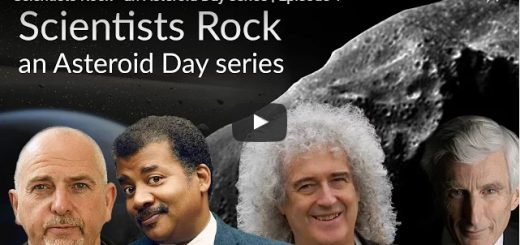Scientists Rock - an Asteroid Day series
