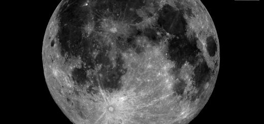 The 20 July 2016 Full Moon, celebrating the 47 years since the Apollo 11 landing