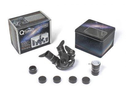 <b>Acquista</b>Set oculari ortoscopici con torretta e lente di Barlow Baader Planetarium - suggerito dal Virtual Telescope