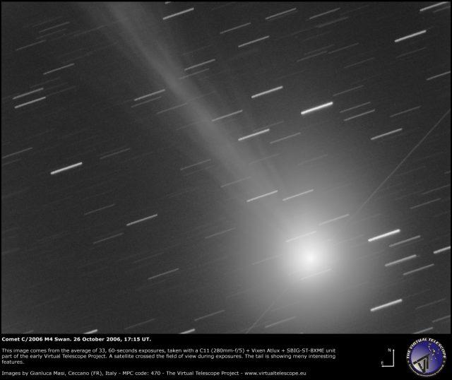 Comet C/2006 M4 Swan: 26 Oct. 2006