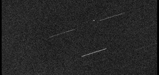 Near-Earth Asteroid 2016 VA was moving extremely fast when it was captured in this image. 2 Nov. 2016
