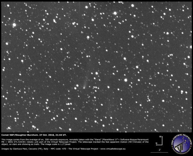 Comet 56P/Slaughter-Burnham, an image - 27 Oct. 2016
