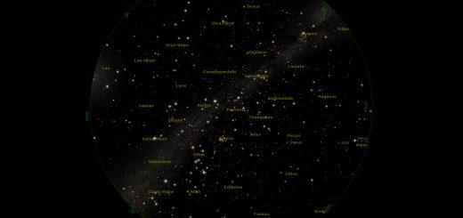 Star Chart: 15 Jan. 2017, 08:30 PM for (13°E,41°N)