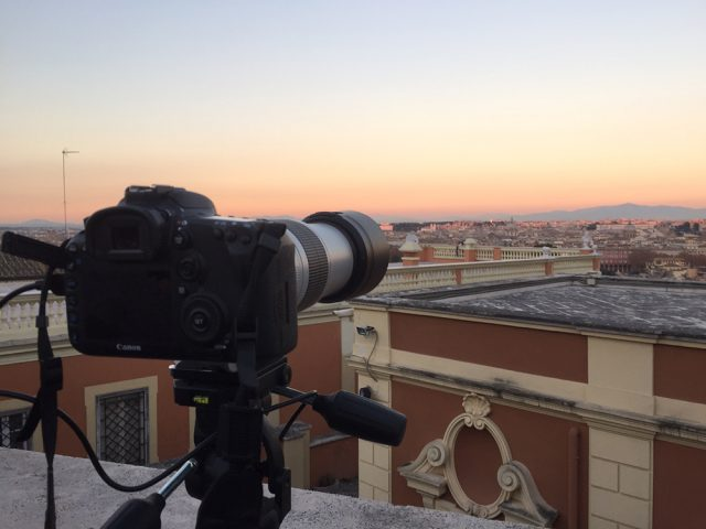Everything is ready to image the Supermoon