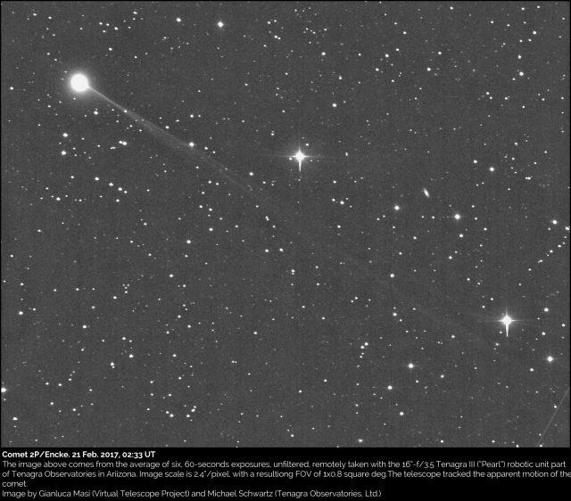Comet 2P/Encke: 21 Feb. 2017