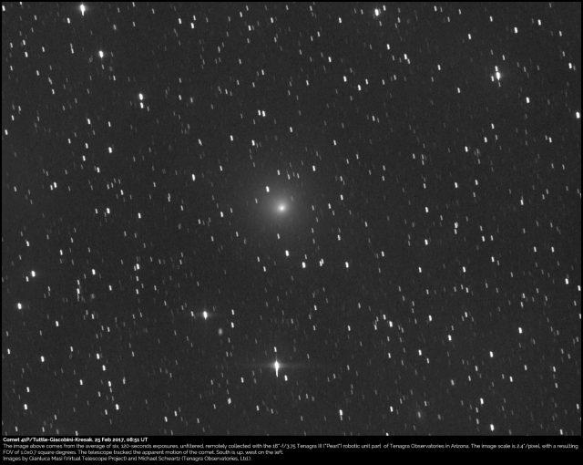 Comet 41P/Tuttle-Giacobini-Kresak: 25 Feb. 2017