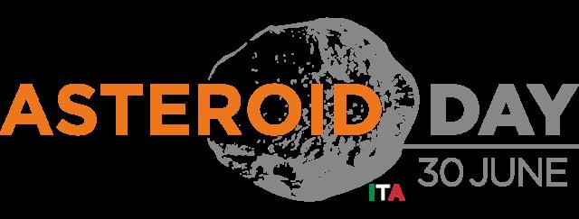 Logo Ufficiale Asteroid Day Italia - sfondo trasparente