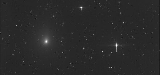 Comet 41P/Tuttle-Giacobini-Kresak meets Messier 97 and Messier 108: 22 Mar. 2017