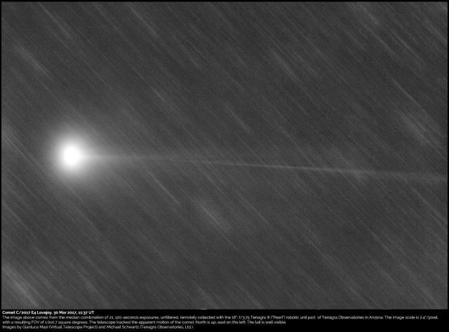Comet C/2017 E4 Lovejoy: 30 Mar. 2017