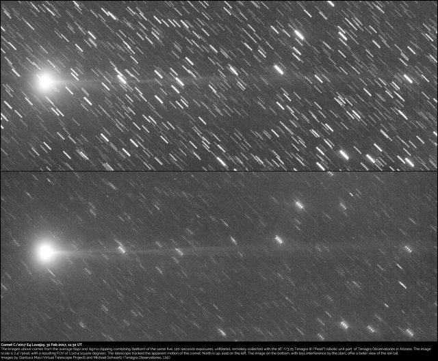 Comet C/2017 E4 Lovejoy: 31 Mar. 2017