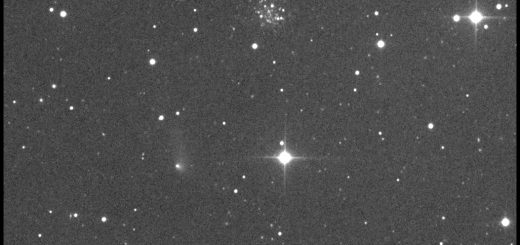 Comet 315P/Loneos, Palomar 4 and PGC 1846998 - 21 Apr. 2017