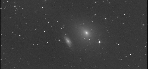Comet 41P/Tuttle-Giacobini-Kresak meets the galaxy NGC 6015: 9 Apr. 2017