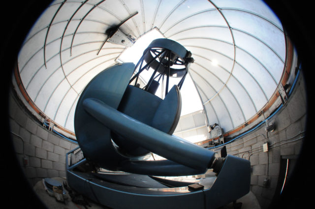 """Big Blue"", the 32"" robotic telescope joining early next 2018"