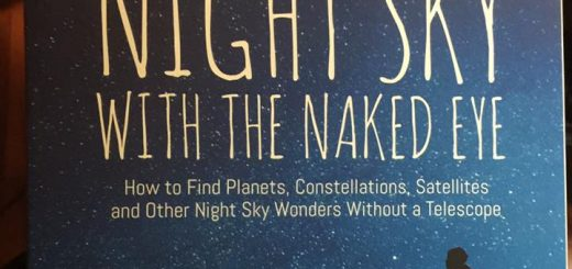 """Night Sky with the Naked Eye"", a book by Bob King"