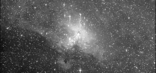 "Messier 16, the ""Eagle"" nebula"