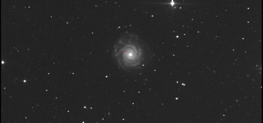 NGC 3938 and supernova SN 2017ein: 28 May 2017
