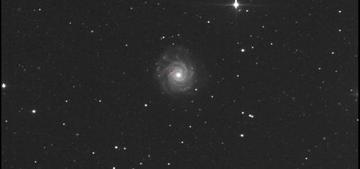NGC 3938 and supernova SN 2017ein: 28 May 2017