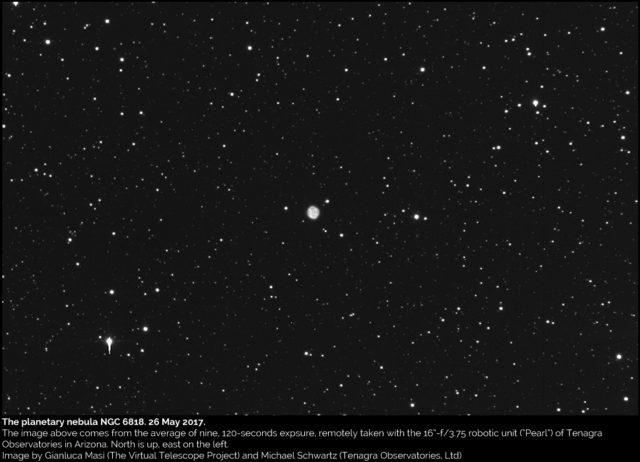 The Planetary Nebula NGC 6818