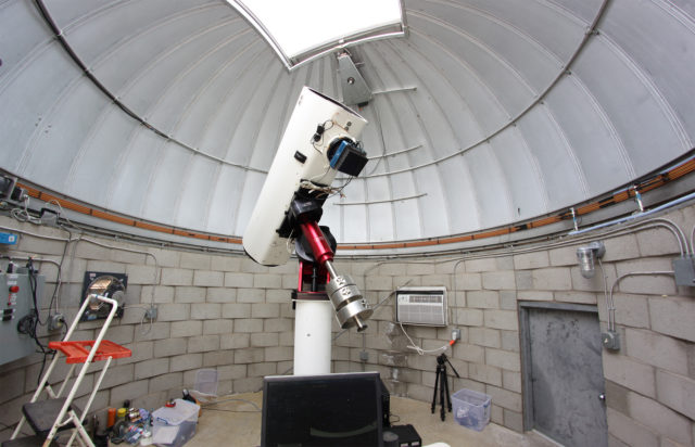 "The Tenagra III (""Pearl"") robotic unit available at Tenagra Observatories"