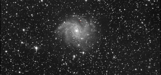 Supernova SN 2017eaw and NGC 6946: 15 May 2017