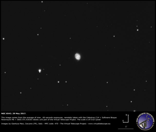 The Planetary Nebula NGC 6543