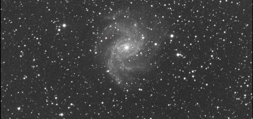 Supernova SN 2017eaw and NGC 6946: 22 July 2017