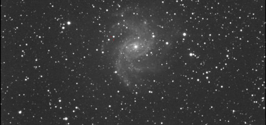Supernova SN 2017eaw and NGC 6946: 9 July 2017
