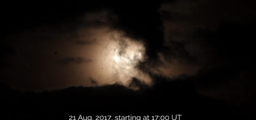 The 21 Aug. 2017 total solar eclipse: online observing session