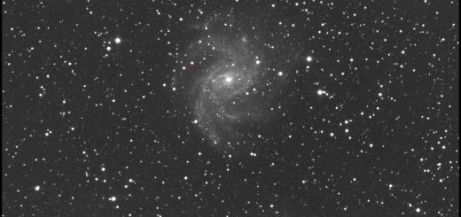 Supernova SN 2017eaw and NGC 6946: 02 Aug. 2017