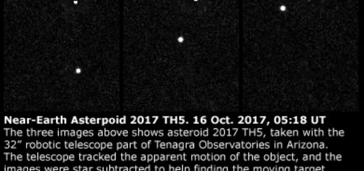 Near-Earth asteroid 2015 TH5: 16 Oct. 2017