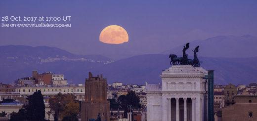 International Observe the Moon Night 2017: online observation - 28 Oct. 2017