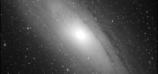 Messier 31 (Andromeda galaxy), Messier 32 and Messier 110