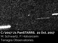C/2017 U1 PanSTARRS - 21 Oct. 2017