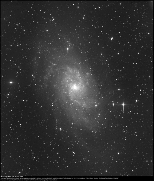 Messier 33, also known as NGC 598
