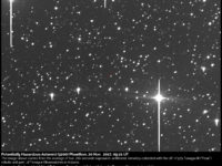 Potentially Hazardous Asteroid 3200 Phaethon: 20 Nov. 2017
