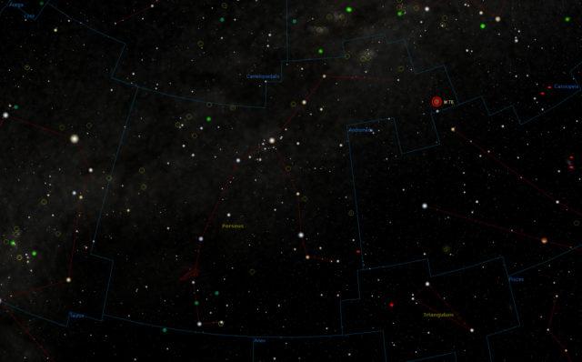 Messier 76: finder chart