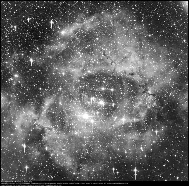 "NGC 2237, the ""Rosette"" Nebula"