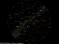 Star Chart: 15 Jan. 2018, 08:30 PM for (13°E,41°N)