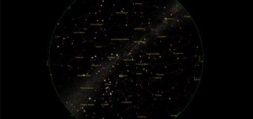 Star Chart: 15 Jan. 2018, 08:30 PM for (13°E,41°N)