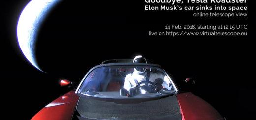 """""""Goodbye, Tesla Roadster!"""": 14 Feb. 2018"""
