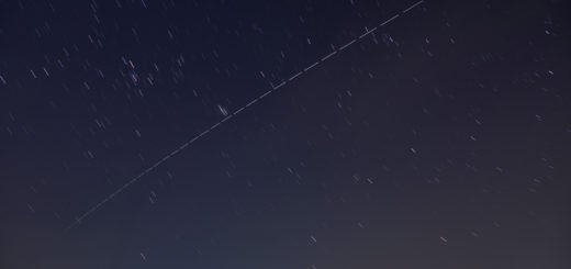 The international Space Station (ISS) crosses the sky above Rome. 25 Mar. 2018