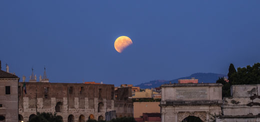 The Night of the Red Moon and the Red Planet - 27 July 2018