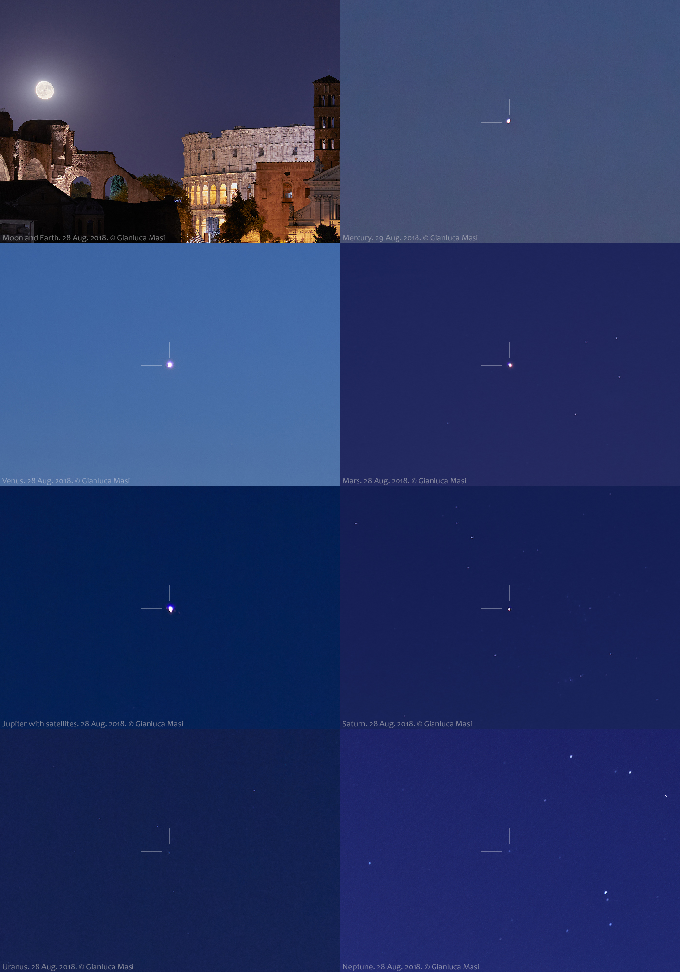 Poster of the Grand Tour of the Solar System described in this story. 28 and 29 Aug. 2018