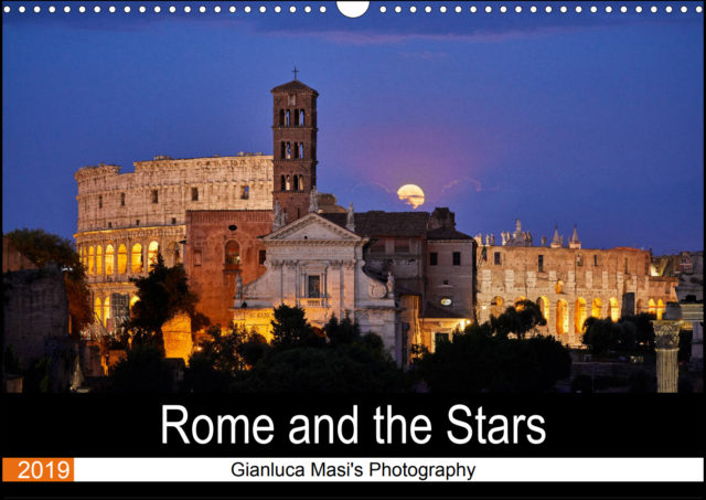 """Rome and the Stars"" wall calendar: free international shipping"