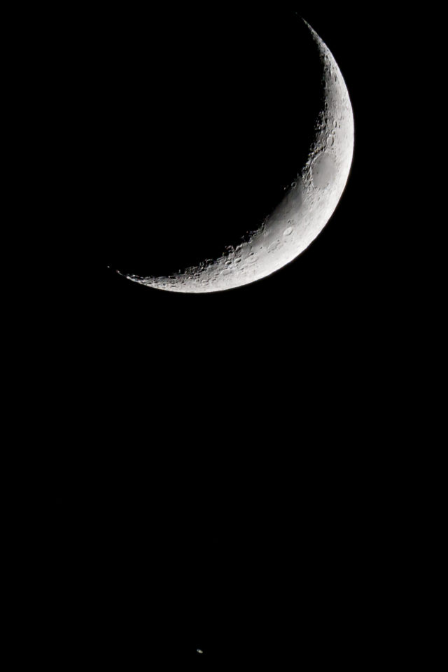 The Moon-Saturn conjunction: 11 Nov. 2018 - Marcello Barnaba