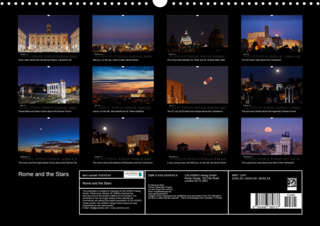 """""""Rome and the Stars"""": now available, free international shipping."""