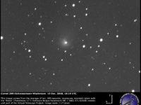 Comet 29P/Schwassmann–Wachmann: 10 Dec. 2018