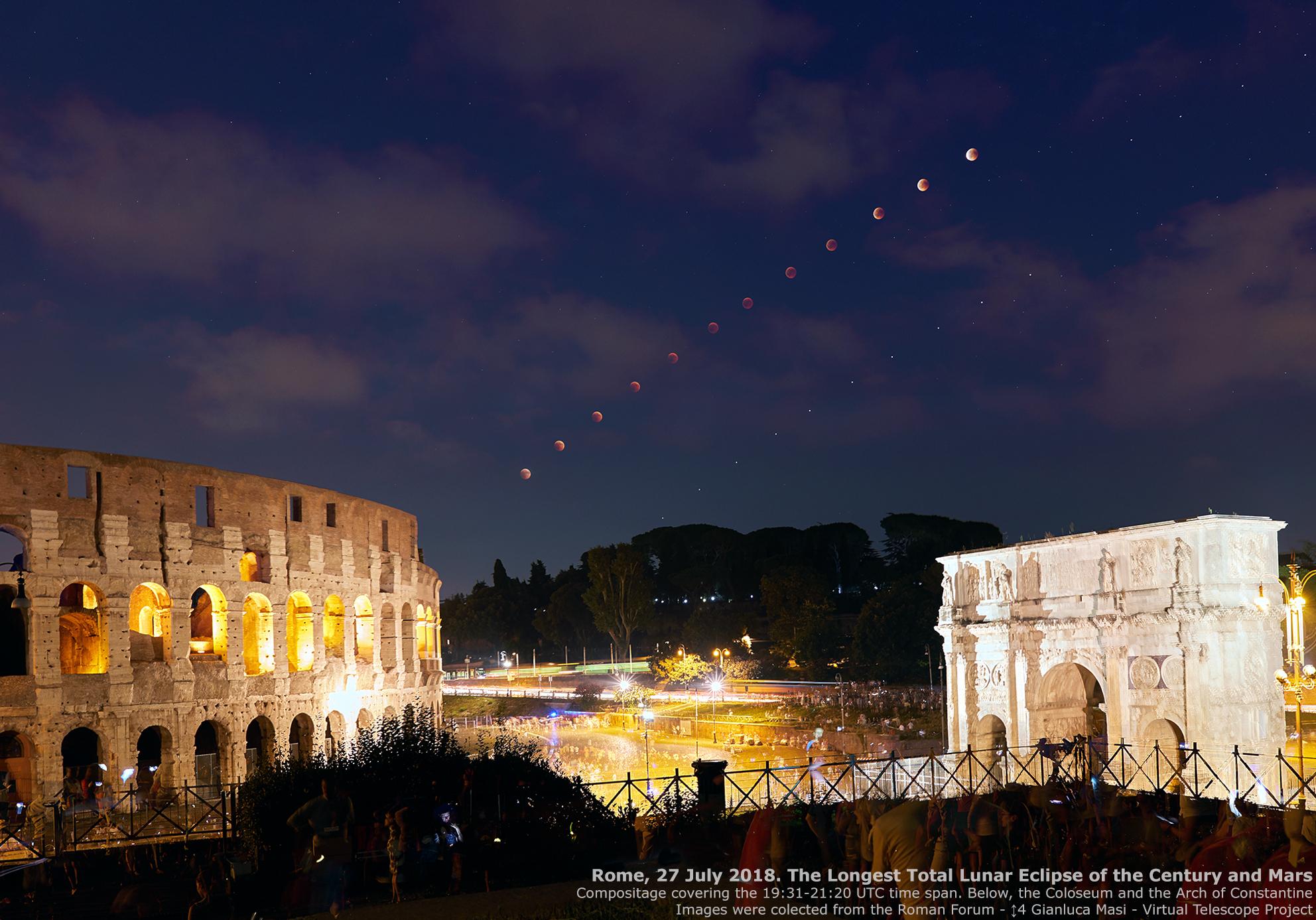 21 Gennaio 2019 Eclissi Totale Di Super Luna Guida All